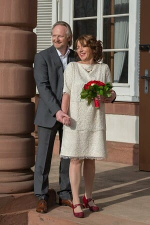 Viel Glück dem Brautpaar! - Für immer ja