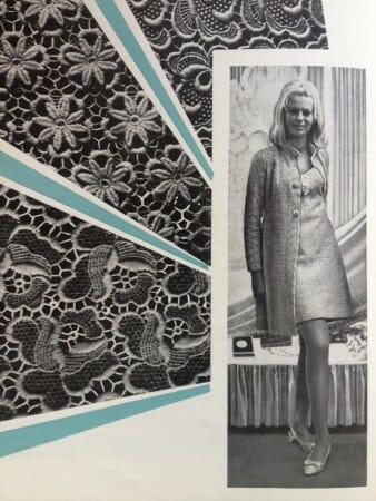 Muster und Modell aus den Gründungsjahren der PGH Modespitze