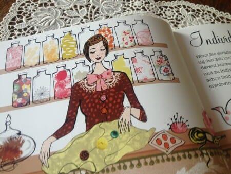 Zauberhafte Illustrationen von Sam Wilson, die sich durch das ganze Buch ziehen