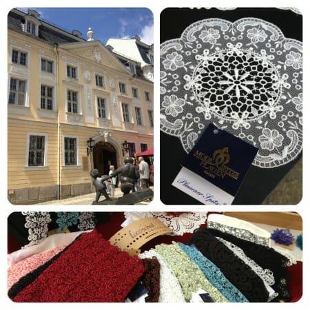 Impressionen vom Textilmarkt - das Vogtlandmuseum und Bilder von unserem Stand