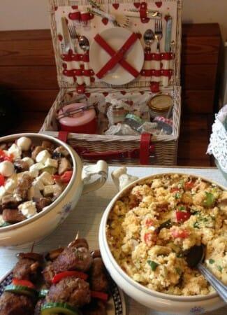 Modespitze-Blog-Picknick-Spitze-Meterware-Bordüre-essen