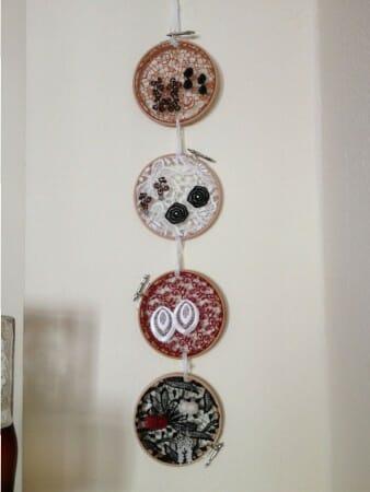 Modespitze-Blog-Meterware-Spitze-DIY-Stickrahmen-Ohrringe