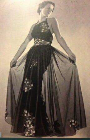 Ausstellung zum Thema Mode in den 30-er Jahren - zu sehen im Spitzenmuseum in Plauen