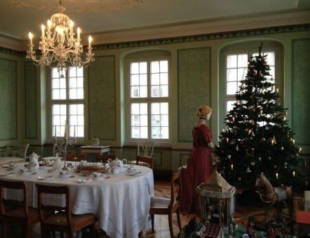 Die Weihnachtsausstellung im Vogtlandmuseum in Plauen - Napoleonzimmer