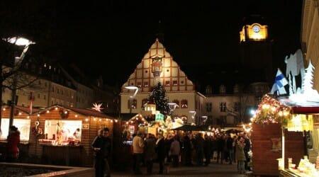 Der Weihnachtsmarkt in Plauen