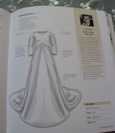 Das Brautkleid von Balenciaga aus den 60er Jahren