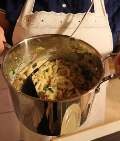 Unsere fertige One Pot Pasta