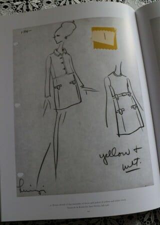 Zeichnungen von Oscar de la Renta