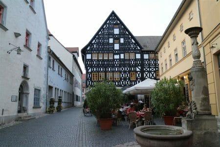 letzter Stopp des Tages - im Köstritzer Schwarzbierhaus in Weimar
