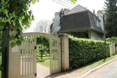 Das Haus Hohe Pappeln in Weimar