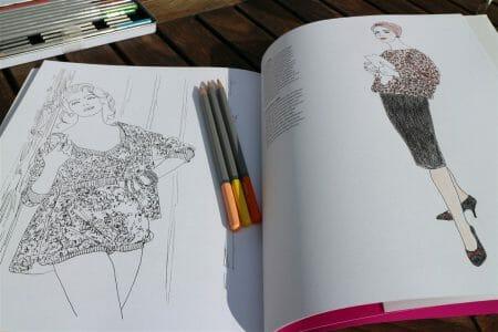 das Vogue Malbuch aus dem Prestel Verla