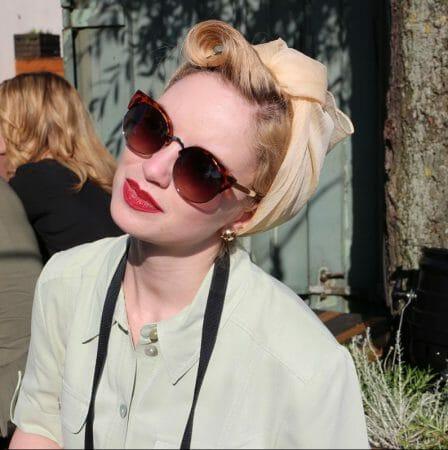 Zur Fashionshow von Julia Starp