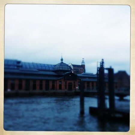 Die Fischauktionshalle in Hamburg Altona