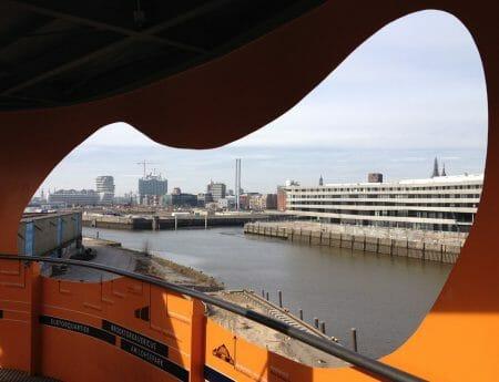 Aussichtsturm in der Hafencity