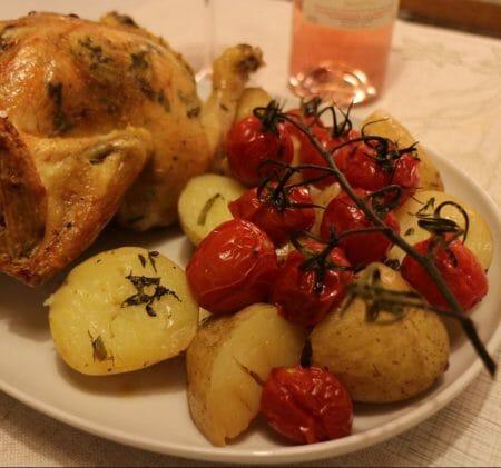 Unser Sonntagsbraten - provenzalisches Zitronenhähnchen
