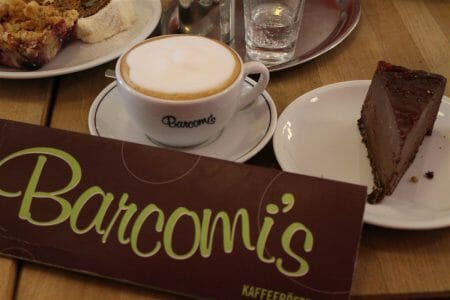 Barcomis Cafe in Berlin