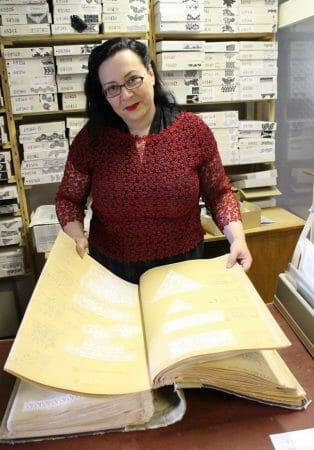 Ein Blick in die historischen Musterbücher