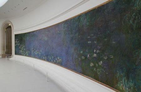 Musée de l'Orangerie in Paris - Seerosen von Monet