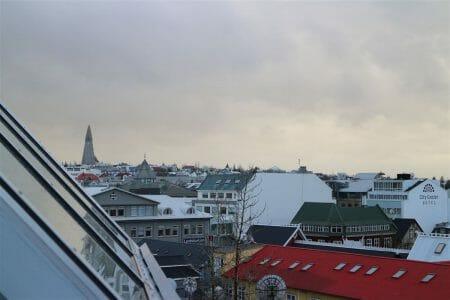 Blick über Reykjavik