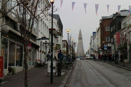 Hallgrimskirkja in Reykjavik