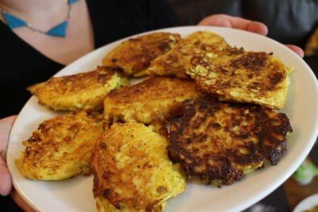 Rezept für vogtländische Bambes - Kartoffelpuffer