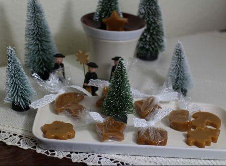 DIY - ganz schnell gemacht - weihnachtliche Karamellbonbons