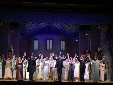 Die Operette Prinzessin Nofretete von Nico Dostal in der Musikalischen Komödie in Leipzig