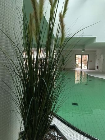 Das Hutzn Bad in der Soletherme in Bad Elster