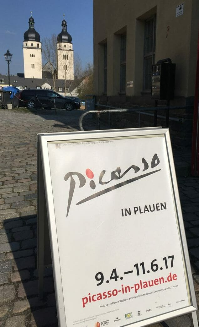 Picasso in Plauen - die Ausstellung rund um die 100 Radierungen der Serie Volland im Malzhaus