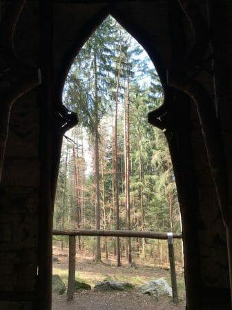 Spaziergang rund um Bad Elster - Kreuzkapelle