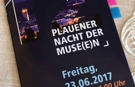 Programm zur Museumsnacht in Plauen