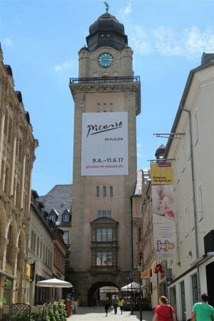 Rathausturm in Plauen