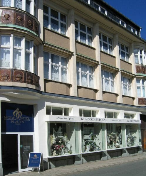 Modespitze Plauen in der Annenstraße ist bei der Museumsnacht dabei