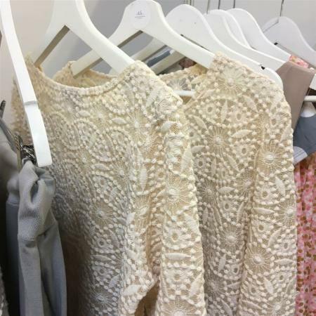 Nachhaltige Mode von Sophia Schneider-Esleben - GOTS zertifizierte Spitze der Modespitze Plauen