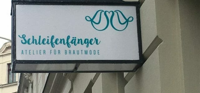 Schleifenfänger - maßgefertigte Brautkleider aus Leipzig