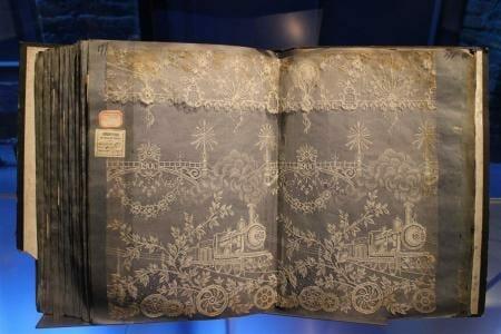 Cité de la Dentelle et de la Mode – Spitzenmuseum von Calais - Musterbücher