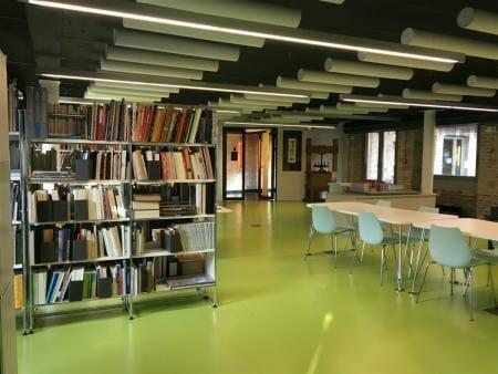 Cité de la Dentelle et de la Mode – Spitzenmuseum von Calais - Bibliothek