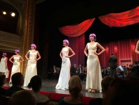 Spitzenfestgala Plauen - Julia Starp - Modelle mit Plauener Spitze - Brautmode - Brautkleid