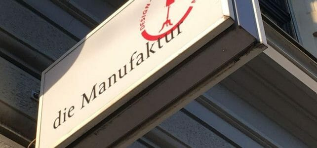 Maßanfertigung und Einzelteile - Die Manufaktur in St. Gallen