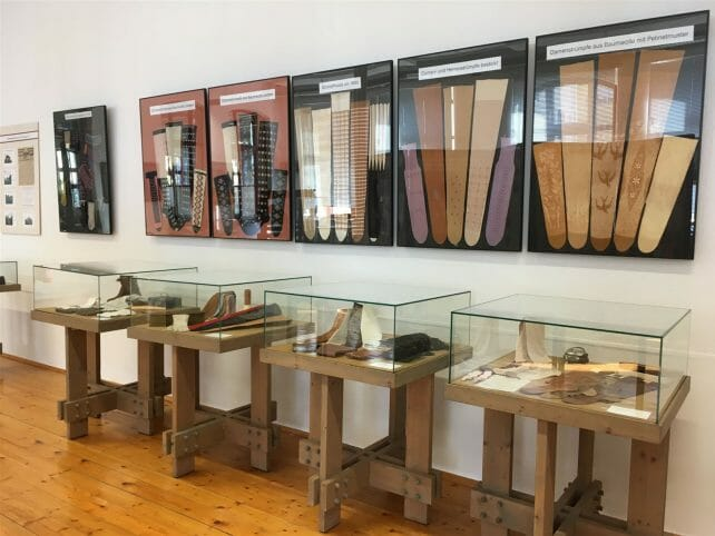 Textil und Rennsport Museum in Hohenstein Ernstthal im Erzgebirge  - Industriekultur - Strumpfherstellung