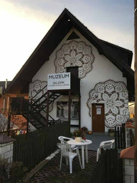 Das Museum für Spitze -Koronki  in Koniakow in Polen  NeSpoon