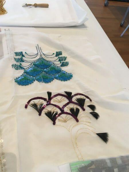Workshop Tambourstickerei - Luneville-Stickerei