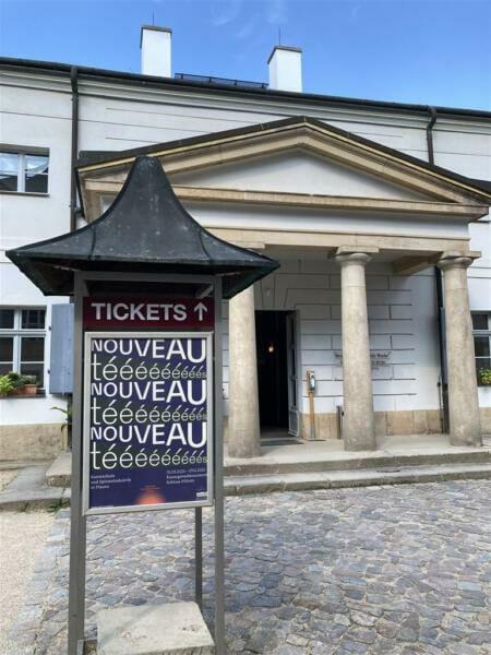 Ausstellung über die Kunstschule und Plauener Spitze - Nouveautes -  Kunstgewerbemuseum im Schloss Pillnitz, Dresden