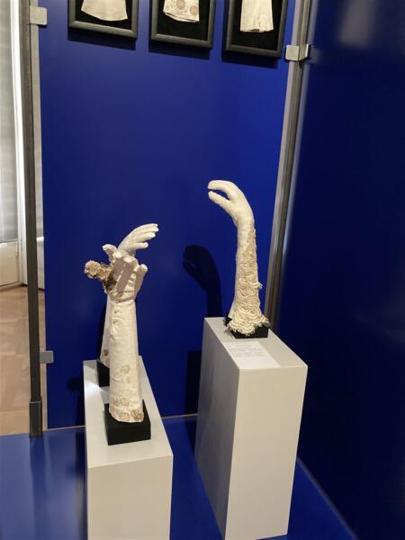 Nouveautes - Exklusive Entwürfe mit Spitze - neu gestaltet für die Ausstellung im Schloss Pillnitz